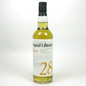 Benrinnes 1984 Whisky Agency 28 Year Old / Liquid Library Front