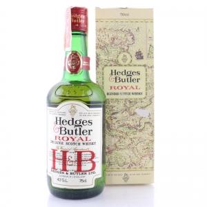 Hedges & Butler Royal De Luxe Scotch Whisky 1970s