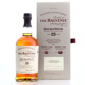 Balvenie 25 Year Old Double Wood / 25th Anniversary Edition