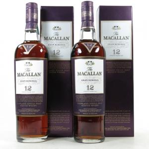 Macallan 12 Year Old Gran Reserva 2 x 70cl