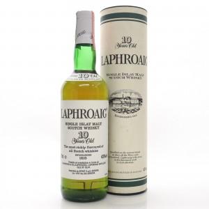 Laphroaig 10 Year Old Pre-Royal Warrant / Spirit Import