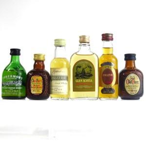 Miscellaneous Whisky Miniatures x 6