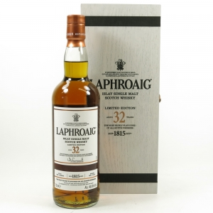 Laphroaig 32 Year Old Front