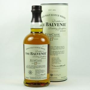 Balvenie 17 Year Old Rum Cask front