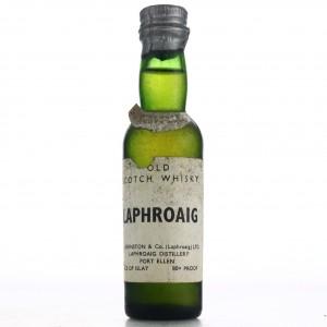Laphroaig 20 Under Proof Miniature 1960s
