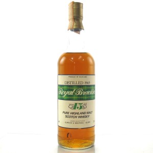 Royal Brackla 1969 Gordon And MacPhail 15 Year Old