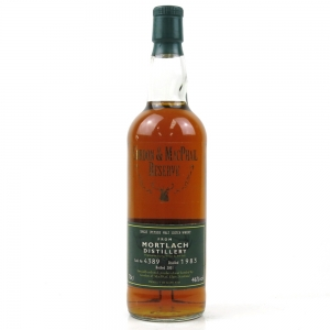 Mortlach 1983 Gordon and MacPhail Reserve Single Cask