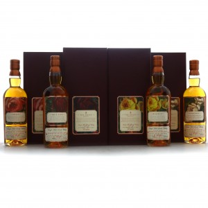 Rosebank 21 Year Old Speciality Drinks 4 x 70cl / The Roses Edition #1-4
