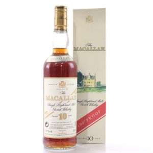 Macallan 10 Year Old 100 Proof / Gouin Import