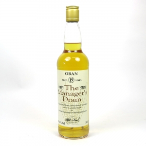 Oban 19 Year Old Manager's Dram 1995 / 59.24%