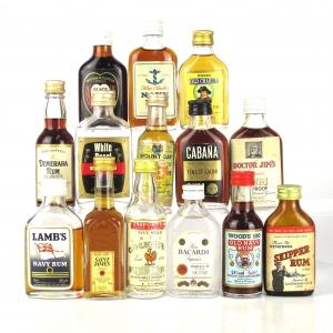 Rum Selection 14 x Miniature