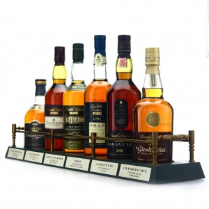 Classic Malts Distillers Edition Collection 6 x 70cl / Includes Plinth