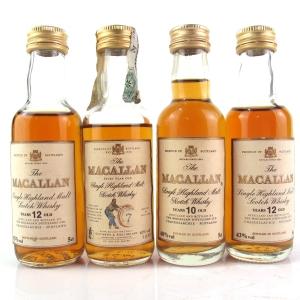 Macallan Miniature Collection 4 x 5cl