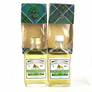 Glenlivet 8 Year Old Gordon and MacPhail Miniatures x 2 1970s