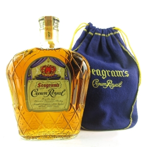 Seagram's 1957 Crown Royal Canadian Whisky