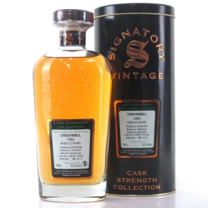 Strathmill 1990 Signatory Vintage 22 Year Old Cask Strength
