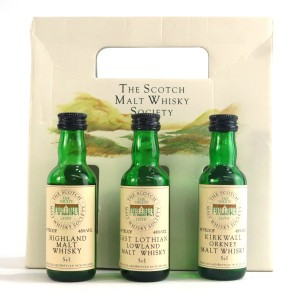 SMWS Miniature Gift Pack 3 x 5cl 1980s