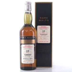 Cardhu 1973 Rare Malt 27 Year Old / 60.02%