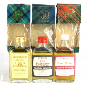 Highland Gordon and MacPhail Miniatures x 3 1970s/80s
