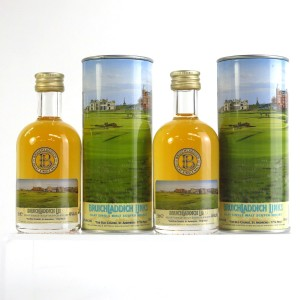 Bruichladdich Links 14 Year Old Miniatures 2 x 5cl / Old Course St Andrews