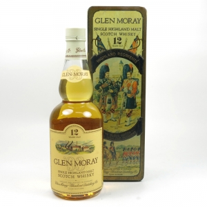 Glen Moray 12 Year Old Black Watch Tin Front