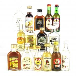 Rum Selection 15 x Miniature