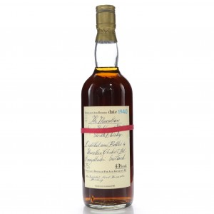Macallan 1940 Handwritten Label / German Exclusive