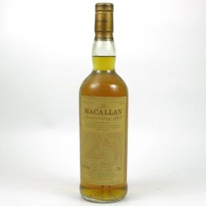 Macallan 1965 Anniversary Malt 25 Year Old