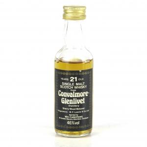 Convalmore 21 Year Old Cadenhead's Miniature 5cl 1980s