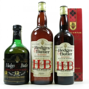Hedges and Butler Selection / 1 Litre, 75cl and 70cl