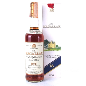 Macallan 18 Year Old 1976 / Giovinetti Import