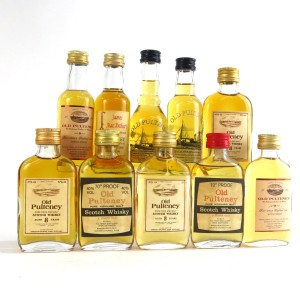 Old Pulteney Miniature Selection 10 x 5cl / Including 70 Proof 8 Year Old