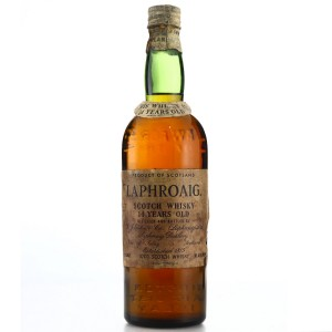 Laphroaig 14 Year Old bottled 1952/1953 US Import