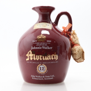 Mortlach 12 Year Old Johnnie Walker Decanter 1980s / Japanese Import