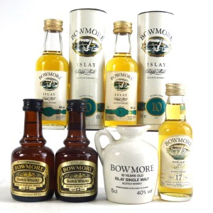 Bowmore Miniature Selection 6x 5cl