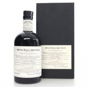 William Grant and Sons 25 Year Old Rare and Extraordinary 75cl