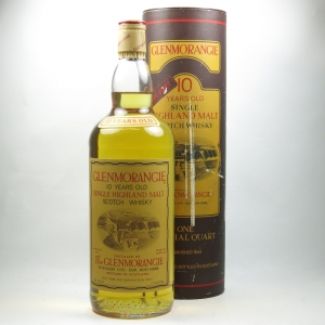 Glenmorangie 10 Year Old 1 Imperial Quart front