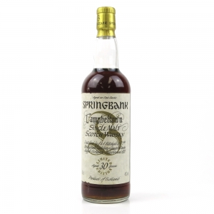 Springbank 30 Year Old Limited Edition