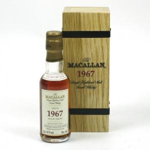 Macallan 1967 Fine and Rare Miniature 5cl