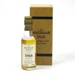 Macallan 1968 Fine and Rare Miniature 5cl