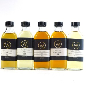 Whisky Shop Sample Selection 5 x 10cl