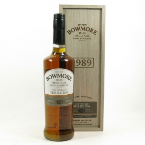 Bowmore 1989 24 Year Old Feis Ile 2014 Front