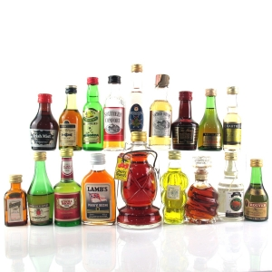 Miscellaneous Spirit & Liqueur Miniature Selection 18 x 5cl