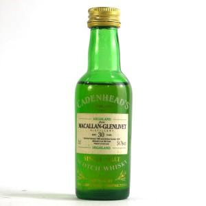 Macallan 1963 Cadenhead's 30 Year Old Miniature 5cl
