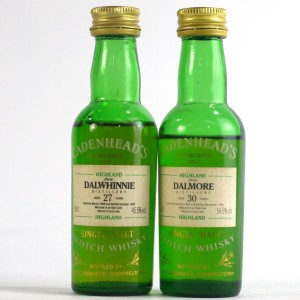 Highland Cadenhead's Miniatures 2 x 5cl / includes Dalmore 30 Year Old