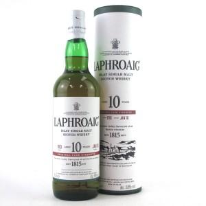 Laphroaig 10 Year Old Cask Strength Batch #010