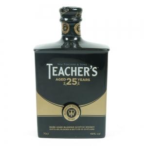 Teachers 25 Year Old Decanter