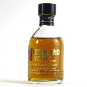 Highland Park 12 Year Old Miniature 10cl 1980s