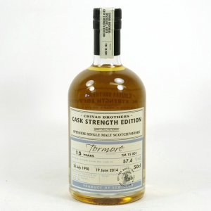 Tormore 1998 Cask Strength 15 Year Old Batch #001 Back