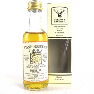 Imperial 1970 Gordon and MacPhail Miniature 5cl